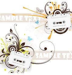 Cassette Design vector
