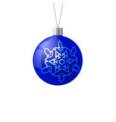 Christmas ball new year concept vector