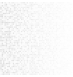 neutral halftone background with fading dots vector image