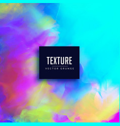 Watercolor texture background with ink flowing vector