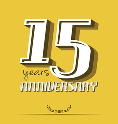 10 year an8 vector image vector image