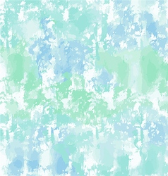 Green blue watercolor background or texture vector image vector image