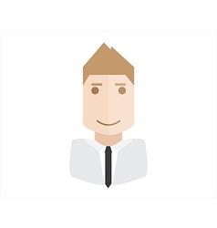 object businessman avatar vector image vector image