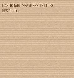 Cardboard seamless textured pattern vector