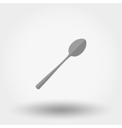 Spoon icon Flat vector image