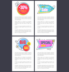 best sale and special offer on vector image