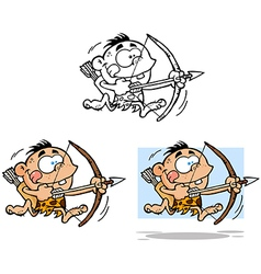 Cave Boy Collection vector image