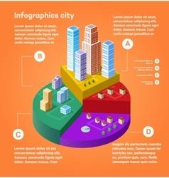 City infographics vector