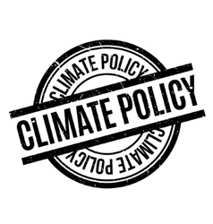 Climate Policy rubber stamp vector