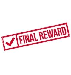 Final Reward rubber stamp vector image