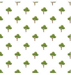 Fluffy tree pattern vector