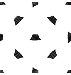 Niagara falls pattern seamless black vector