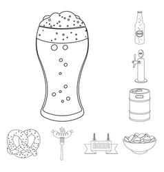 Pub and bar symbol vector