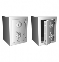 safes vector image