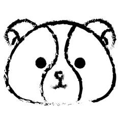 Stuffed animal dog vector