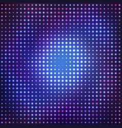 abstract purple disco background vector image