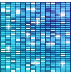 blue technical equalizer background vector image