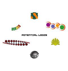 potential logos vector image