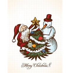 Christmas vecor vector