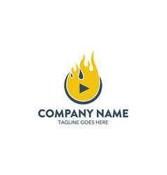 company logo brand vector image