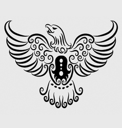 Eagle ornament vector image