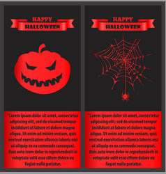 happy halloween bloody on vector image