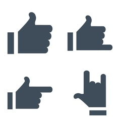 New characters like button for social networking vector
