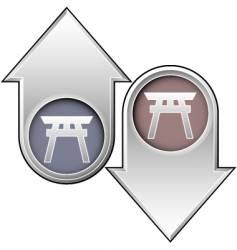 shinto vector image