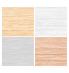 wood color texture pattern set vector image