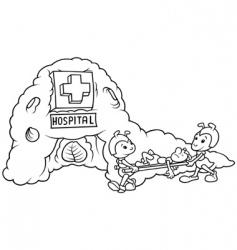 Ant hospital vector
