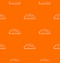 autumn cloud pattern seamless vector image