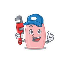 Cartoon character design baby cream vector