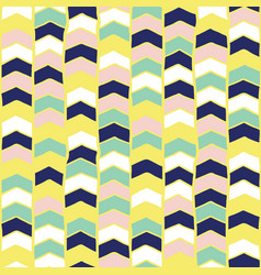 chevron hand drawn seamless pattern arrows vector image