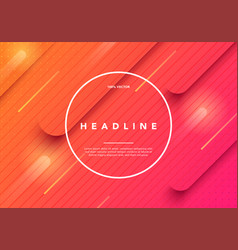 Colorful minimal future geometric background vector