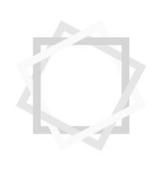 Combined square paper shells monotonous bright vector