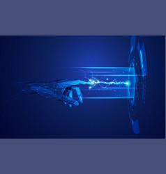 Cyberhand3 vector