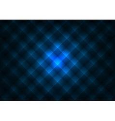 Dark Pyramids Blue vector image