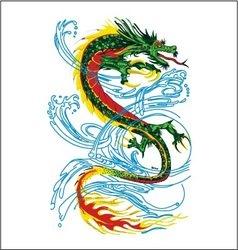 Dragon fly vector