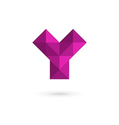 Letter y mosaic logo icon design template elements vector