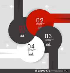 Modern design layout modern design template vector image