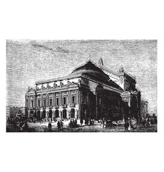 Paris opera house was built by architect charles vector