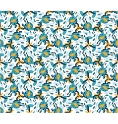 Retro geometric hexagon seamless pattern vector