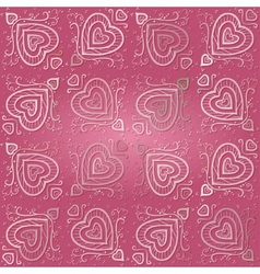Seamless Abstract Pink Pattern vector image