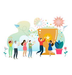 Social and business situations vector