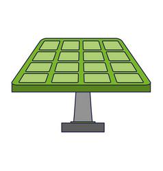 solar panel green energy vector image