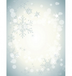 winter soft background3 vector image