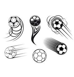 football mascots vector image