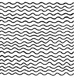 irregular waves pattern vector image