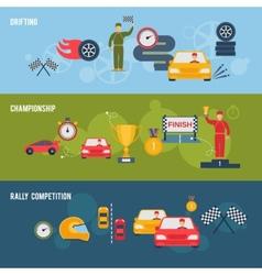 Auto Sport Banner vector image