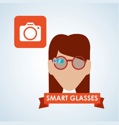 smart device design gadget icon isolated vector image
